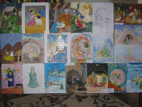 Конкурс Рождественский рисунок
